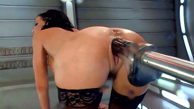 Acción lésbica sexo latino español y orgía grupal